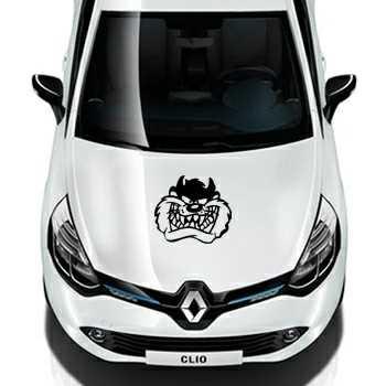 Taz Head Renault Decal