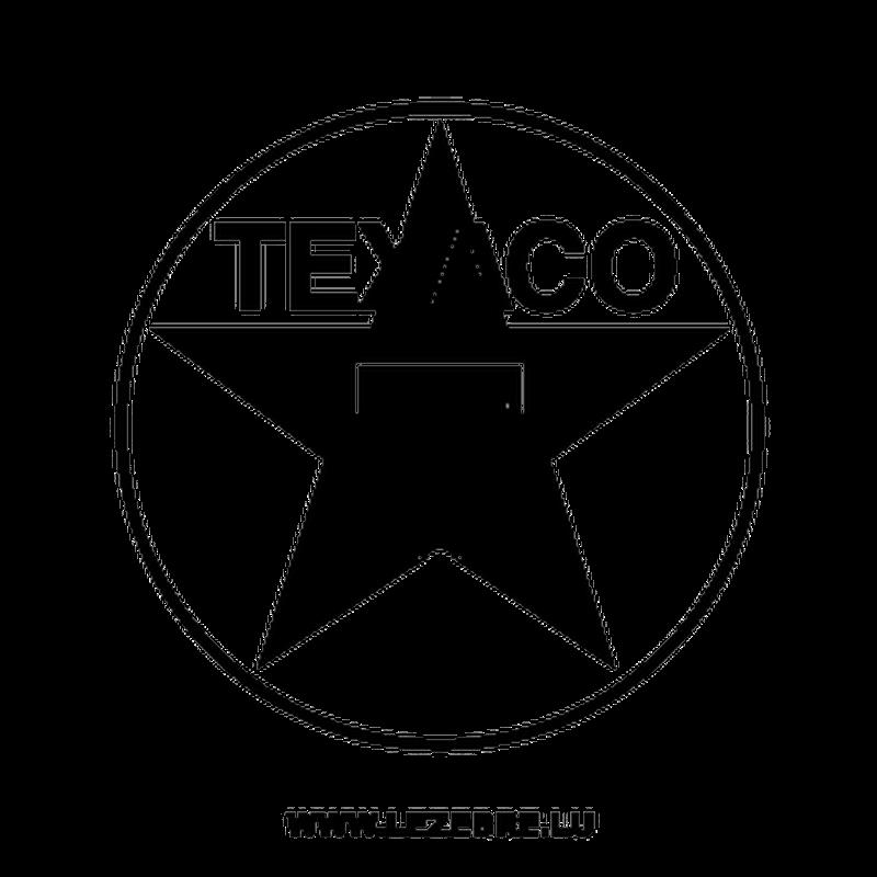 Texaco Logo Decal 5