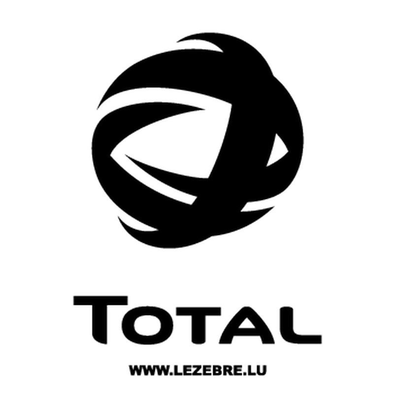 Sticker Total Logo 3