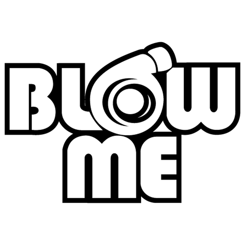 Jdm Blow Me Decal