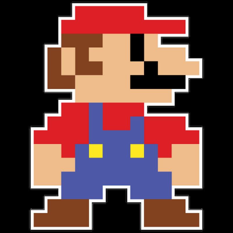 Jdm Pixelated Mario T Shirt