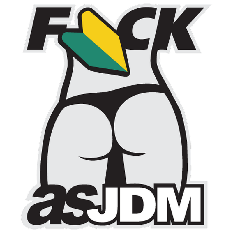 F*ck AS JDM Decal