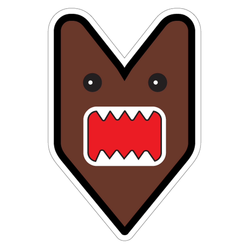 JDM Logo Domo Decal
