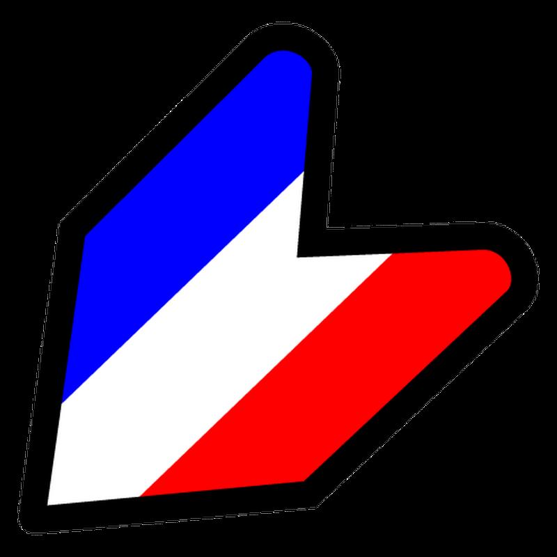 JDM France flag T-shirt