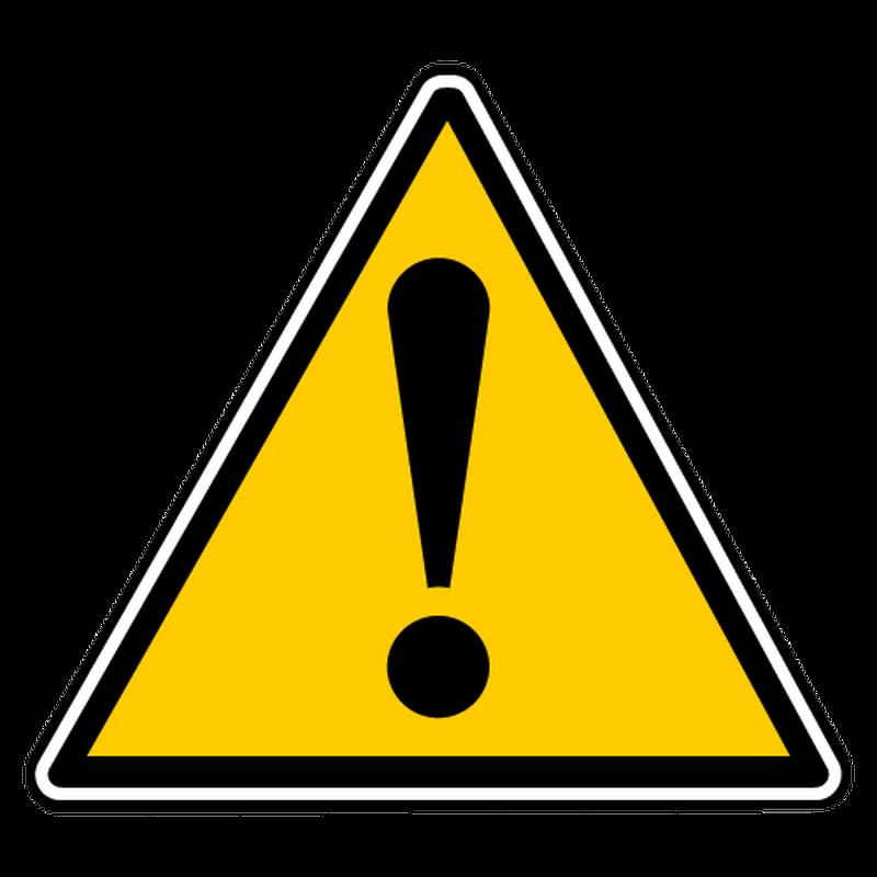 Decal danger