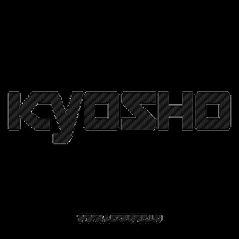 Kyosho Logo Carbon Decal 2