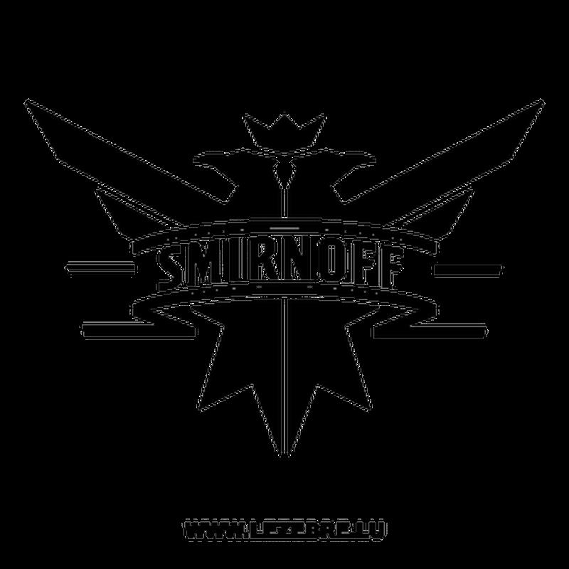 smirnoff logo decal