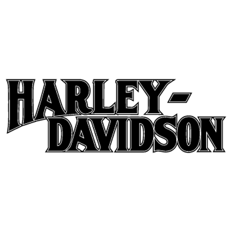 Harley Davidson 1950 2nd model logo Decal