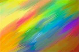 Multicolored paint deco decal