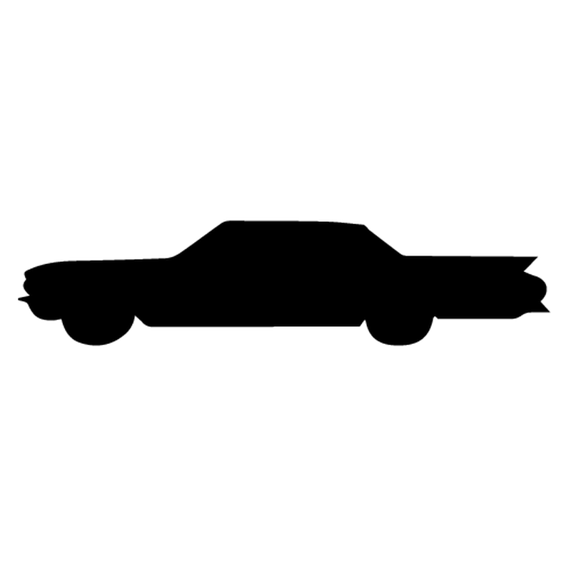 Cadillac Silhouette Decal