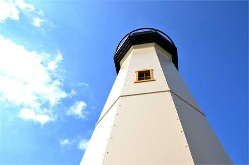 Lighthouse deco decal