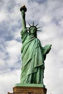 Statue de la liberté Sticker Déco