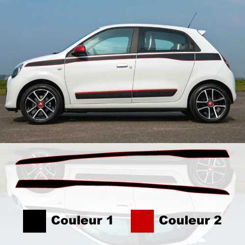Renault Twingo 2015 door decoration decals set