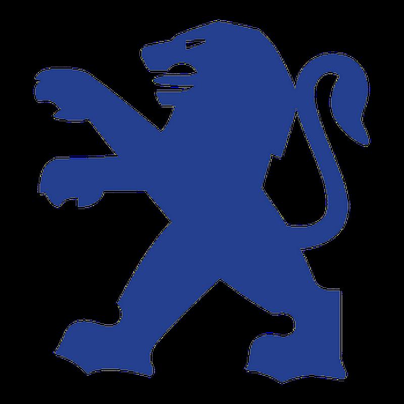 autocollant peugeot logo