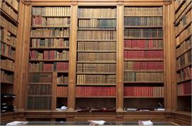 Sticker géant Bibliothèque