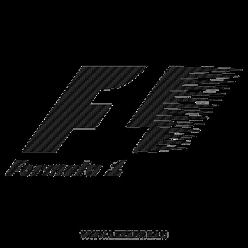 Formule 1 F1 Logo Carbon Decal