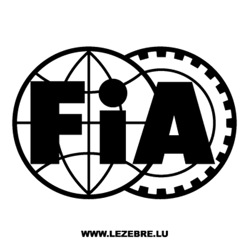 Sticker FIA Logo 2