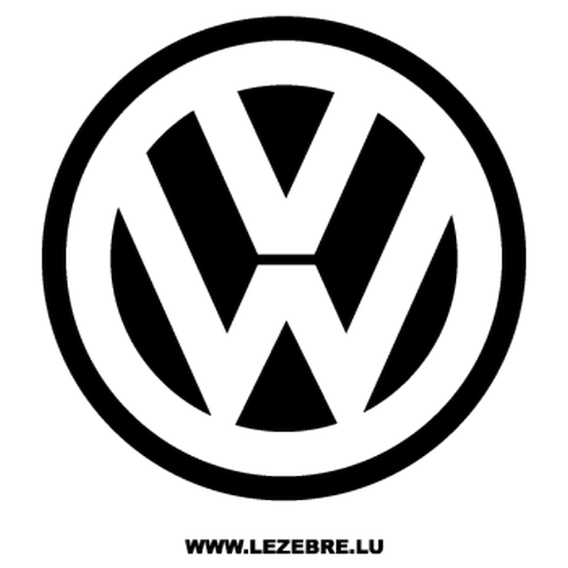 Volkswagen VW Logo Decal
