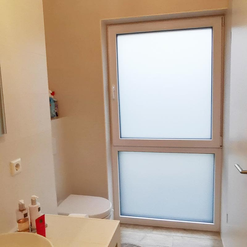 Frosted Glass Effect vinyl film