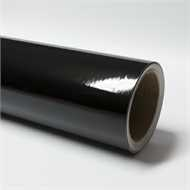 Gloss Black vinyl film
