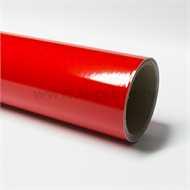 Refletive Red vinyl film
