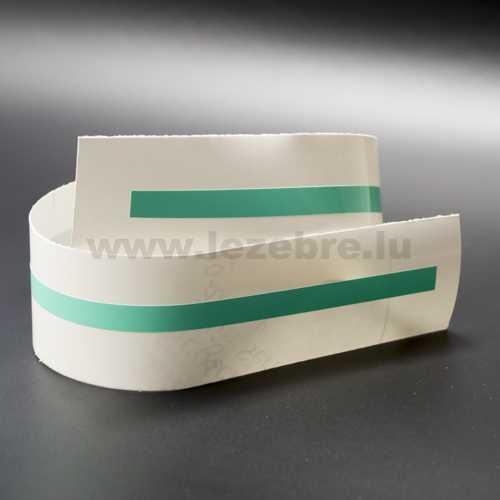 Mint green rim sticker roll