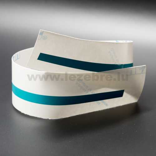 Aufkleber Rolle Zierband Turquoise