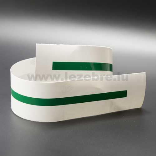 Green rim sticker roll