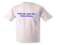 Tee shirt Camping -  Pastis Par Temps Bleu