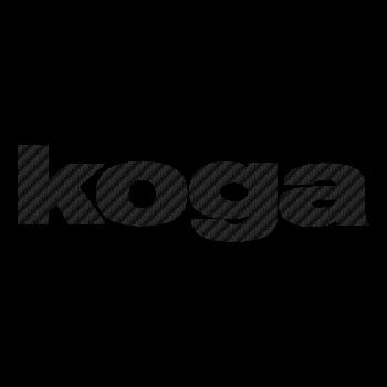 Koga logo Carbon Decal