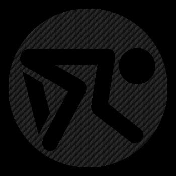 Koga logo Carbon Decal 2