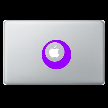 Sticker Macbook Design Circle