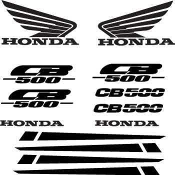 Honda CB 500 DecalS KIT