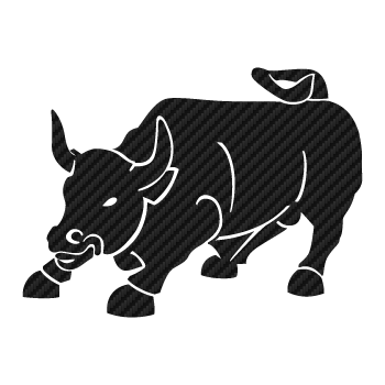 Bull Carbon Decal 2