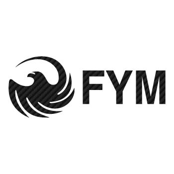 Sticker Carbone FYM Logo 3