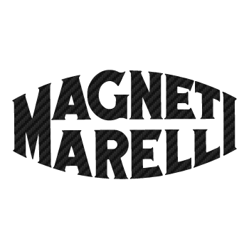 Magneti Marelli old logo Carbon Decal