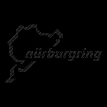 Nürburgring Circuit Carbon Decal 3