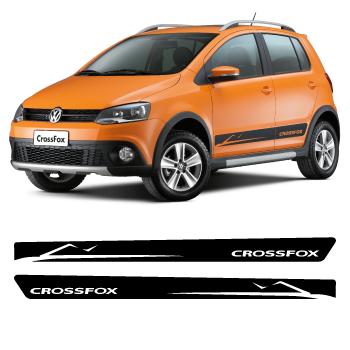Volkswagen Crossfox Stripes Stickers Set