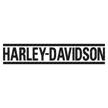 Harley Davidson bike decoration logo Carbon Decal
