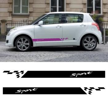 Kit Stickers Bandes Bas de Caisse Suzuki Swift Sport