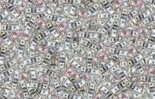 Dollars Decoration Decal