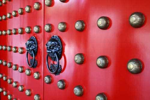 Dekoaufkleber Buddha Tooth Relic Tempel