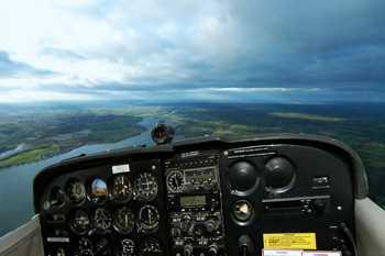 Cessna Aircraft Cockpit Decoration Decal