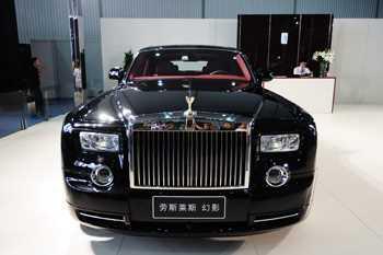 Sticker Déco Rolls Royce Phantom