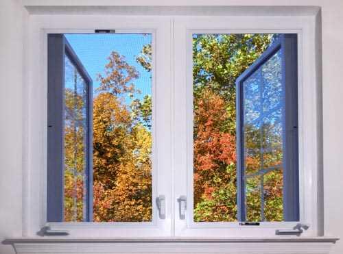 Window Fall Decoration Decal
