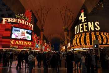 Sticker Déco Rue Fremont Casino Las Vegas