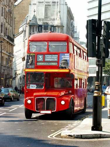 London Bus Decoration Decal