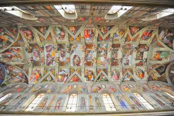 Sticker Déco Michelangelo Chapelle Sixtine