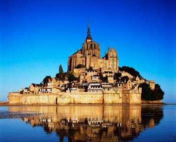 Sticker Deco muraux Mont Saint Michel