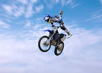 Freestyle Motocross Decoration Decal